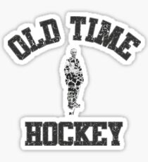 Classic Vintage Old Time Hockey Sticker