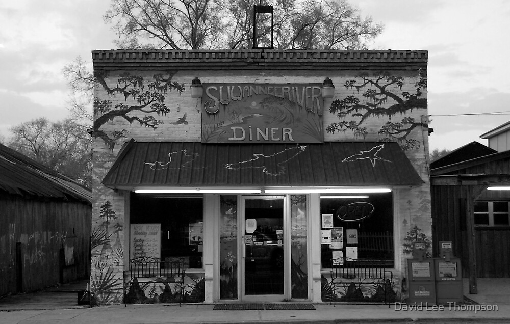 """Suwannee River Diner"" by David Lee Thompson"