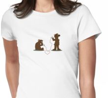 I gotta tell you a secret... Womens Fitted T-Shirt