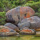 0211 Tidal River boulders by Hans Kawitzki
