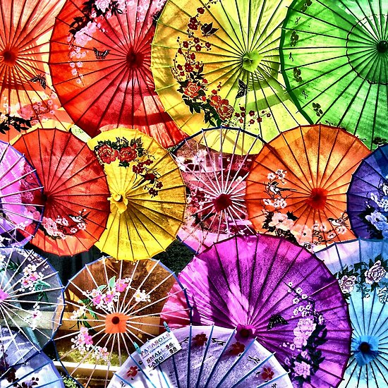 Parasols by Paul Louis Villani