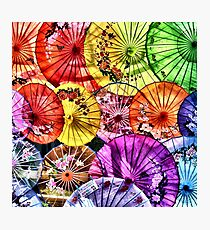 Parasols Photographic Print