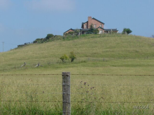 house on a hill. by mrcool
