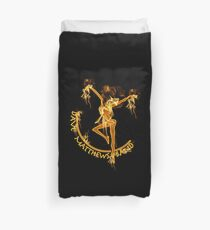 Dave Matthews Band On Fire Duvet Cover