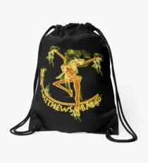 Dave Matthews Band On Fire Drawstring Bag