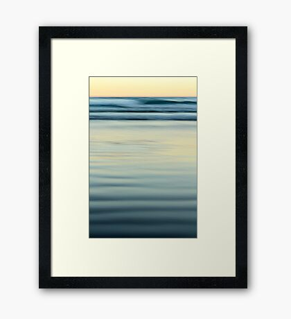 Winter Dusk Framed Print
