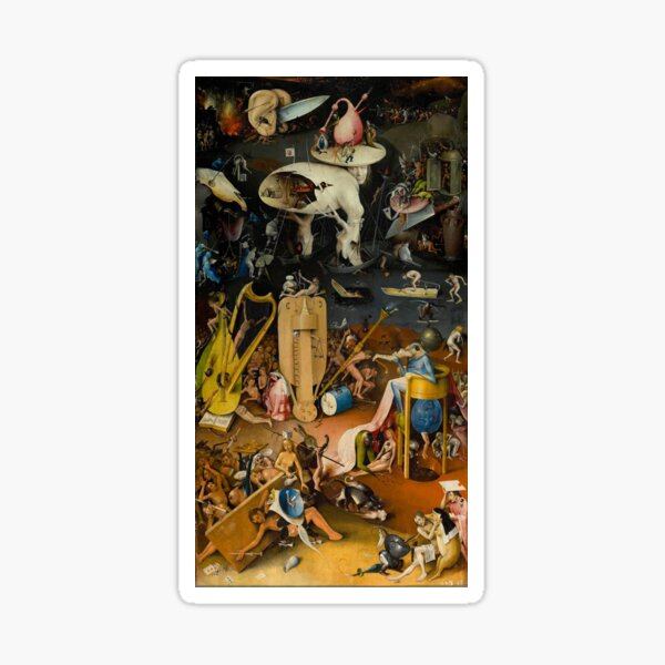 Hieronymus Bosch - The Garden of Earthly Delights Sticker
