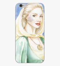 Child of the goddess - Celtic lady iPhone Case