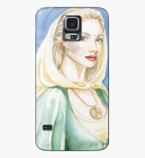Child of the goddess - Celtic lady Case/Skin for Samsung Galaxy