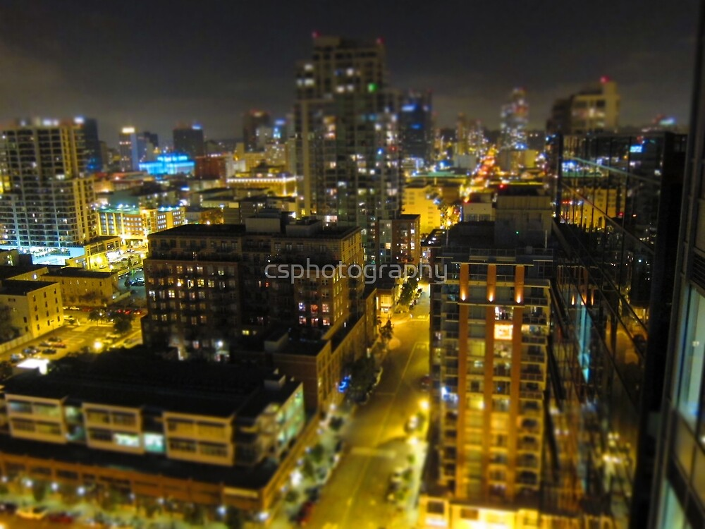 San Diego from the sky ll by csphotography