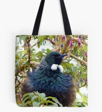 Ever Heard Of Blue Pollen? - Well... Look At My Face...Tui - NZ Tote Bag