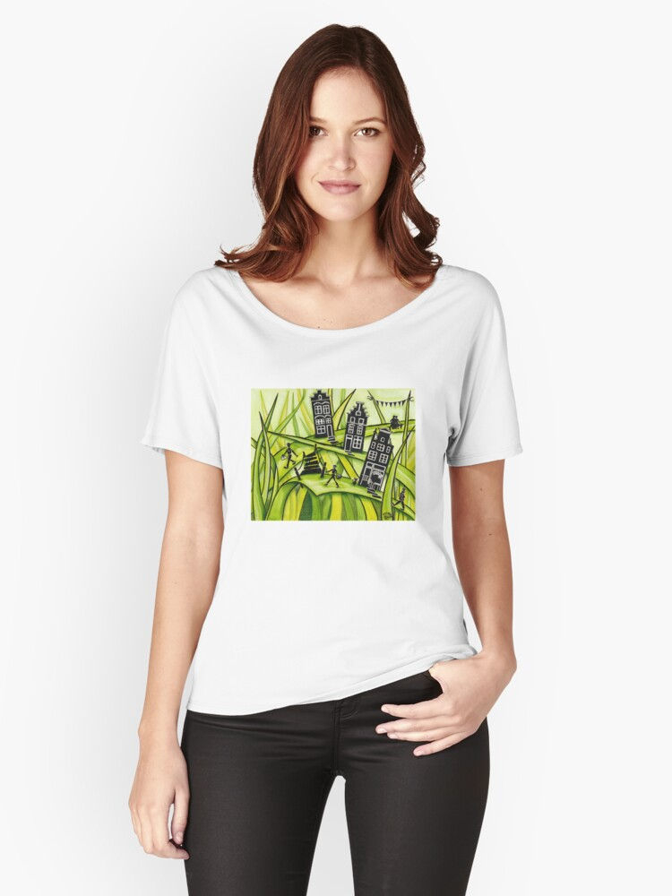 THE GREEN GRASS OF HOME #2 Women's Relaxed Fit T-Shirt Front