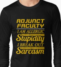 ADJUNCT FACULTY Long Sleeve T-Shirt