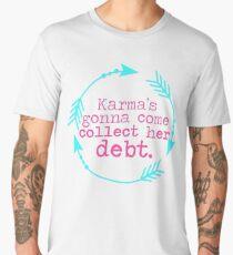Karma's Debt in Neon Men's Premium T-Shirt