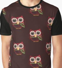 The Red Owl - Large Graphic T-Shirt
