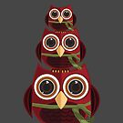 The Red Owl - Totem by Adam Santana