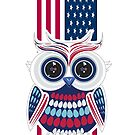 Patriotic Owl 2 by Adam Santana