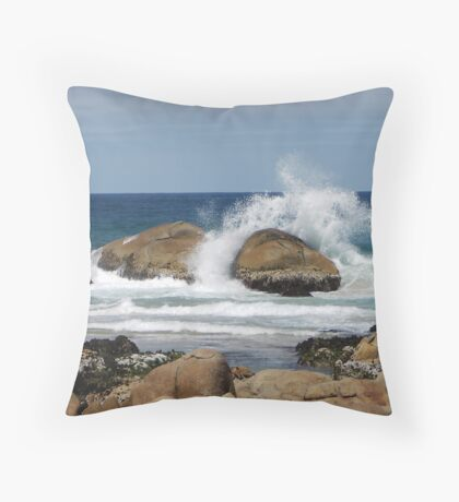 Clinton Rocks II Throw Pillow