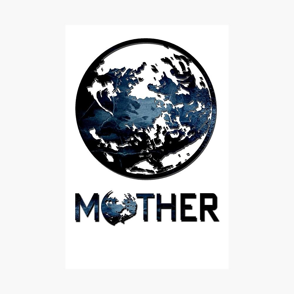 Earthbound Logo Photographic Print