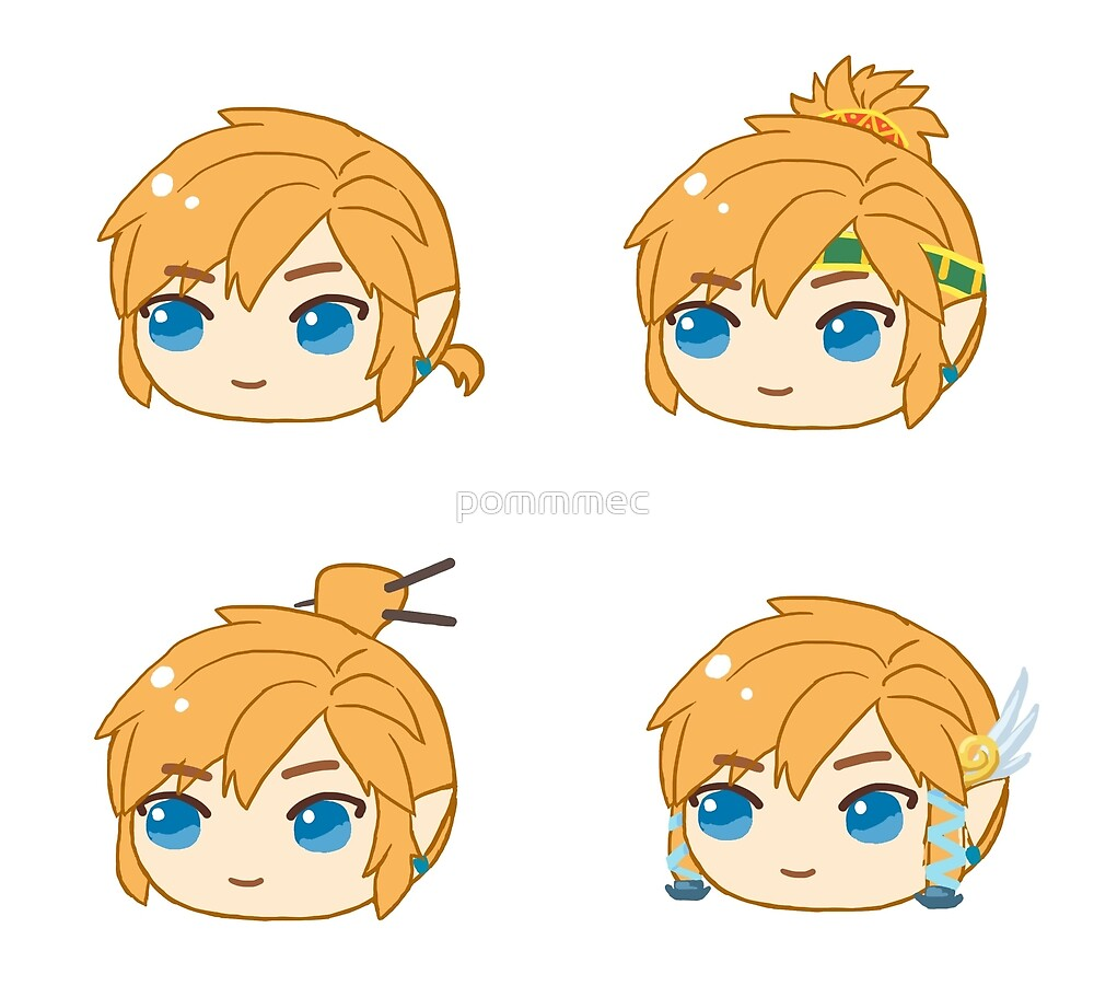 Link Hairstyles Legend Of Zelda Breath Of The Wild By