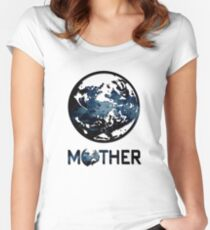 Earthbound Logo Women's Fitted Scoop T-Shirt