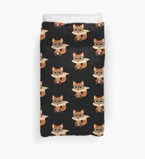 Fox Nerd Duvet Cover