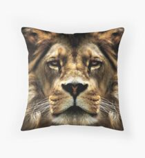 The Lion, the witch..... Throw Pillow