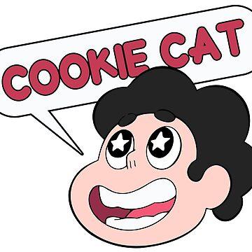 Steven Universe Cookie Cat by LeCouleur