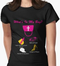 What's In My Bag? Womens Fitted T-Shirt