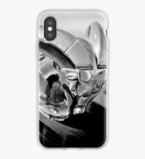1952 Dodge Ram Hood Ornament -0654bw iPhone Case