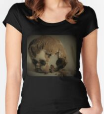My dolly is dirty! Women's Fitted Scoop T-Shirt