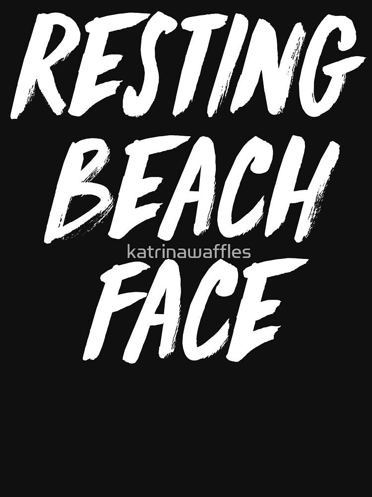 resting beach face by katrinawaffles