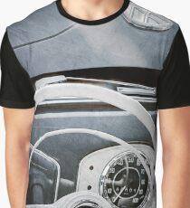1951 Volkswagen VW Beetle Cabriolet Steering Wheel Emblem  -2183ac Graphic T-Shirt