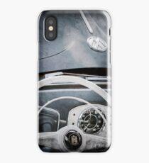 1951 Volkswagen VW Beetle Cabriolet Steering Wheel Emblem  -2183ac iPhone Case/Skin