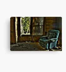 Recliner Memories Canvas Print