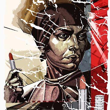Lipstick Socialist by Duncando