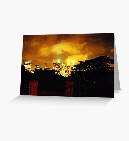 Twin Towers 1999 Greeting Card