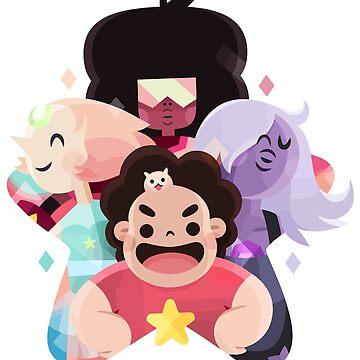 The Crystal Gems - Steven Universe by LeCouleur