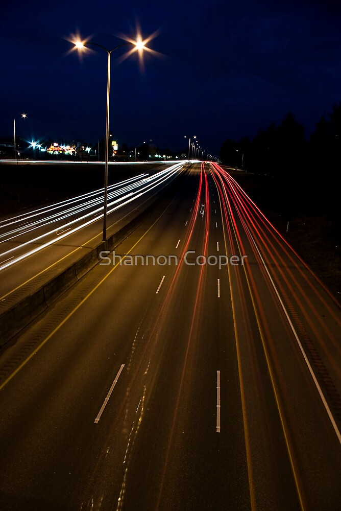 Car Trails by Shannon Beauford