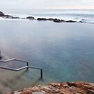 The Blue Pool Bermagui by Brett Thompson