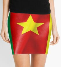 Cameroon Flag Mini Skirt