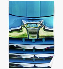 1947 Ford Deluxe Kühlergrill Ornament -0700c Poster