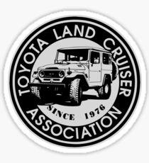 Toyota Land Cruiser ASSC BLK Sticker