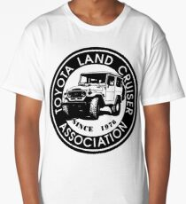 Toyota Land Cruiser ASSC BLK Long T-Shirt