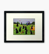Fairway to Heaven Framed Print