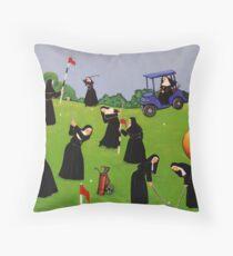 Fairway to Heaven Throw Pillow