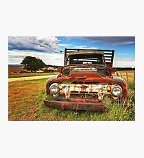 0103 Old Rusty Photographic Print