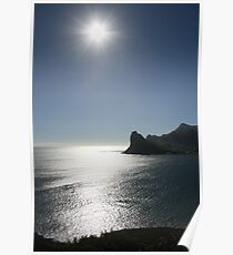The Sun from Chapmans Peak Poster