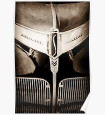 1941 Studebaker Champion Hood Emblem-0215s Poster