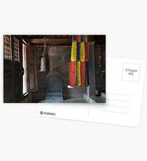 Buddhist Temple Postcards